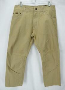 Kuhl Flat Front Khaki Chinos Men's Size 35/30