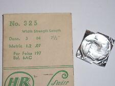Bulova 6AC mainspring / ressort de barillet Zugfeder