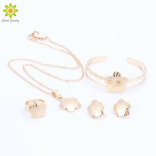 Baby Girls Jewelry Sets Children Gifts Gold Plated Kids Necklace Jewelry Set
