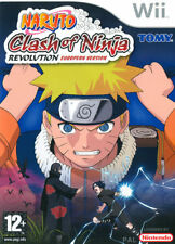 Naruto Clash Of Ninja Revolution Nintendo WII IT IMPORT NINTENDO