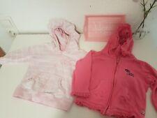 H&M Little Bear Pullover Hoodie Rosa Pink Kapuze Babygirl Baby Mädchen Gr. 80