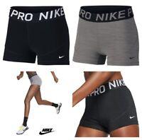 Nike Pro Women Training Shorts 3inch Gym Yoga Short Inner Tights Size S M L XL