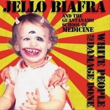 White People & the Damage Done [Digipak] * by Jello Biafra & the Guantanamo Sch…