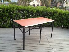 "6Ft Pop Up Outdoor Garden Folding Portable Table 68""x34""34"" Table W/ Roller Bag"