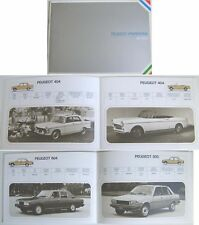 Peugeot Pininfarina from 1955-1982 Publicity Book