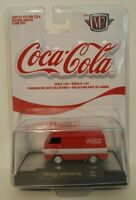 M2 Machines Coca Cola 1964 Dodge A100 Panel Van Limited Edition White Stripe NEW