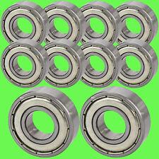 ► 2 Stück 6008 2RS Kugellager 40 x 68 x 15 mm Rillenkugellager 40 mm Welle