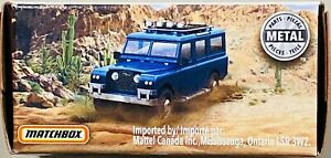 Matchbox '65 Land Rover Gen II Blue