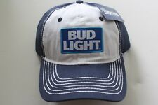 Bud Light Beer cerveza gorra Cap cierre de velcro Budweiser