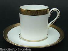 Due WEDGWOOD Senatore w4393 PATTERN piccole possano dare forma caffè tazze e piattini in in buonissima condizione