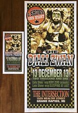 Djali Zwan Poster And Handbill Mark Arminski Signed 2003 Smashing Pumpkins