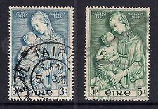 L'Irlanda francobolli usati - 1954 Marian anno, Madonna col Bambino, SG158/159, utilizzato