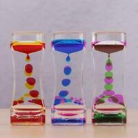 Visual Sensory Toy Liquid Bubble Motion Drop Timer sedation Colourful R1D2