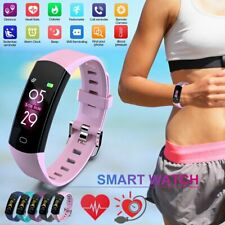 Men Women Sports Smart Watch Fitness Tracker Heart Rate Monitor Colorful Screen