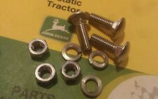 STAINLESS JOHN DEER SPINDLE TO  DECK BOLTS  316 317 318 322  STOP THE RUST 3-PK