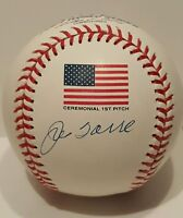 Joe Torre Signed 2001 Rawlings Official MLB World Series Baseball PSA/DNA COA
