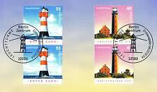 FRG 2004: Lighthouses no. 2409 + 2410 with Berlin First day cancellations! 1A