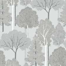 Forest Glitter Paper Bedroom Wallpaper Rolls & Sheets