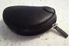 New Cabretta Leather RH Mallet Zipper Headcover by The Grip Master - Black