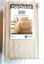 """JCPenny Home Collection Classic Stripe Queen Bedskirt 300 Thread Count 15"""" Drop"""