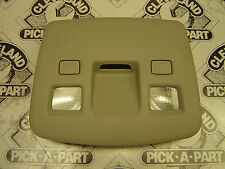09-12 Cadillac CTS CTS-V Sedan Rear Overhead Console w/ Map Lights Grey