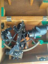 Rare 1973 Tamaya Company Marine Sextant with 7x35 Binocular PAT 816704