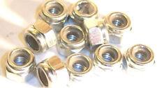 L1260 1/6 1/8 Scale RC Model M6 6mm Steel Metric Locking Nylon Nut Silver 10