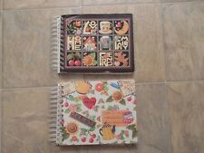 Very Rare Set Of 2 Vintage 1999 Mary Engelbreit Photo Albums Love Family Home &