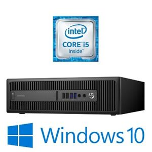 HP EliteDesk 800 G2 SFF Desktop Intel Core i5 6500 8G 128G SSD Win 10 Pro