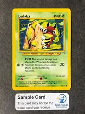 Ledyba Common Unlimited Pokemon Card Neo Destiny 71//105
