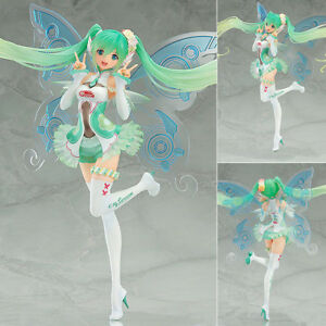 Vocaloid Hatsune Miku Racing Miku Butterfly Miku Figure Toy Figurine Gift No Box