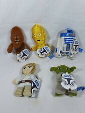 Star Wars Mini Plush Figures Yoda & Others (Woolworths) Lucasfilm Aus Seller