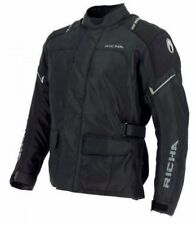 RICHA CONDOR JACKET -Waterproof Black Motorcycle Jacket ideal for everyday use