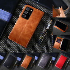 Leather Case For Samsung Galaxy Note 20 Ultra 10 Plus 9 Flip Stand Wallet Cover