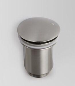 Astrawalker click clack waste 32mm brushed platinum without overflow A70.03.01
