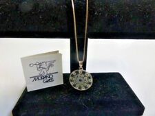 Gorgeous Italian Murano Glass Pendant W/ Sterling Chain - New With Tags