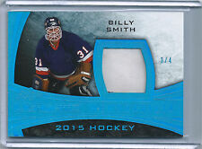 Billy Smith 2015 Leaf Ultimate Memorabilia Game Used Patch UPM-03, 3/4
