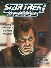 1989 Star Trek The Official Fan Club #68 Magazine