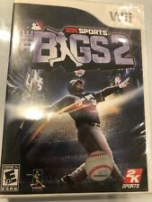 Bigs 2 for Nintendo Wii & Wii U - NEW FACTORY SEALED Baseball Game