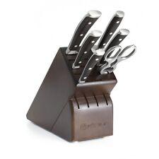 Wusthof Ikon Blackwood - 7 Pc. Knife Block Set