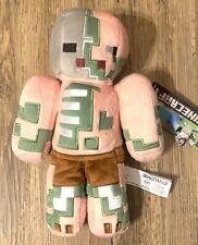 "New Minecraft Official Mojang Jinx Zombie Pigman Stuffed Plush 12"" Rare 2014"