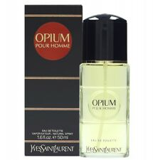 YVES SAINT LAURENT OPIUM FOR MEN EAU DE TOILETTE 50ML SPRAY - MEN'S FOR HIM. NEW
