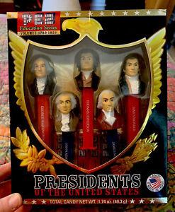 PEZ Presidents Of The United States Volume 1: 1789-1825 Sealed Set