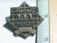 1993 Chevrolet Camaro Indianapolis 500 Pit Pass Pin Badge  Racing Pin, #5014(**)