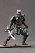 Tin toy soldiers ELITE painted 90mm  samurai