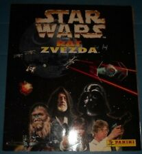 COMPLETE ALBUM WITH ALL STICKERS STAR WARS PANINI 1997 + POSTER