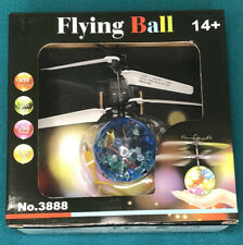 Flying ball drone disco ball flashing lights colorful touch-free sensor fun usb