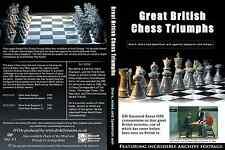 Great British Chess Triumphs - Ray Keene - Chess 2 DVD set