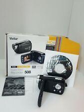 Vivitar Dvr508 High Definition Digital Video Recorder 1.8 Lcd Screen No Sd Card