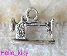 40pcs Tibetan silver sewing machine charm A10291